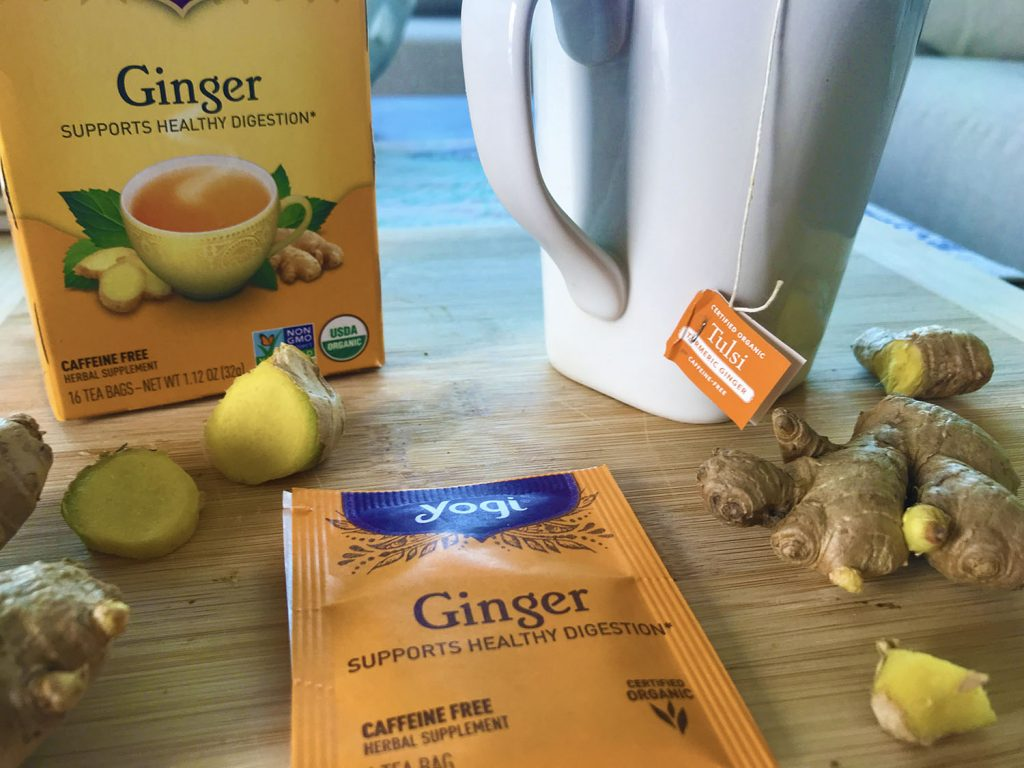 ginger for appetite stimulation after surgery