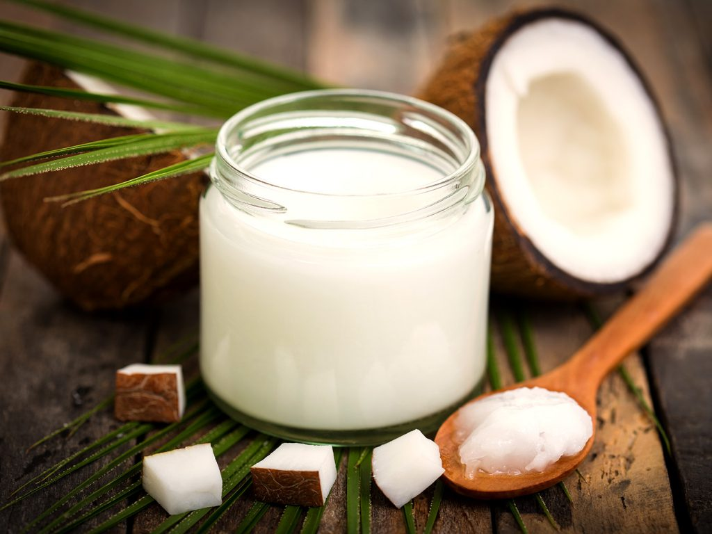 coconut oil remedies for scars