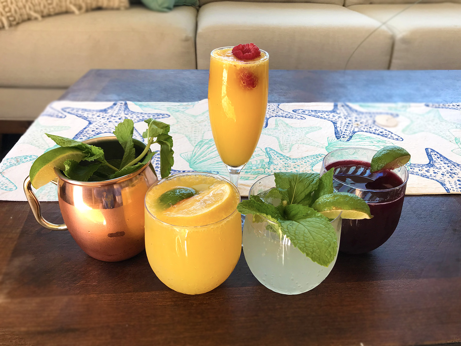 Delicious Mocktails to Replace Your Favorite Drinks Before Surgery