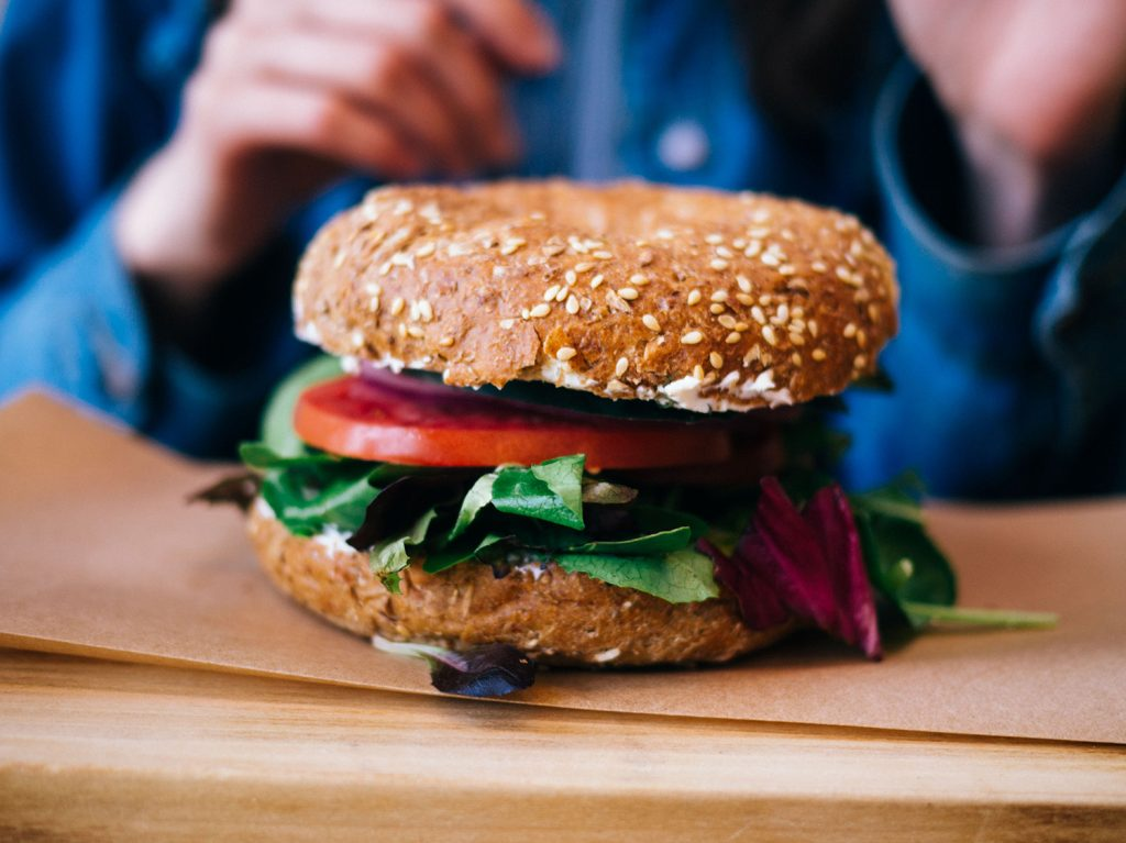 healthy foods: veggie burgers